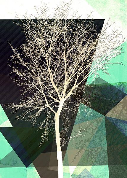 LONELY TREE v1 Portrait van Pia Schneider