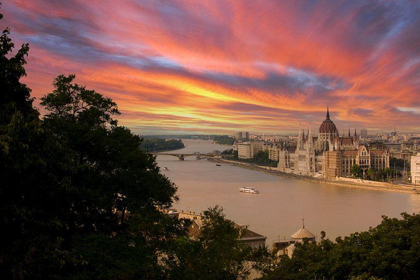 Budapest Hongarije van Brian Morgan