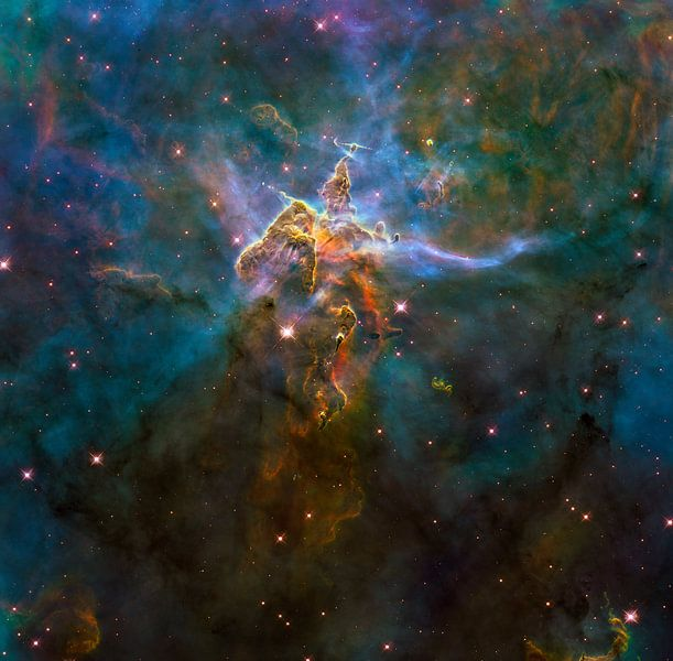 NASA Hubble ruimte foto van Brian Morgan