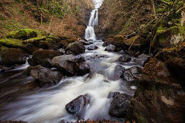 Schottland Wasserfall von Merijn Geurts