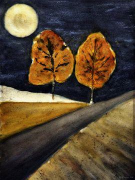 Autumn 's nachts van Christine Nöhmeier