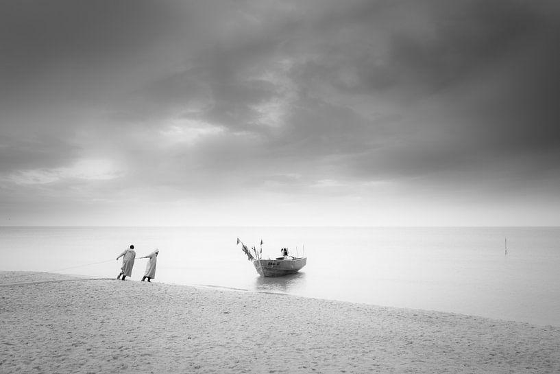Küstenfischer von Dorit Fuhg