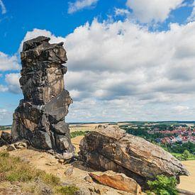 Teufelsmauer, Harz  von Gunter Kirsch