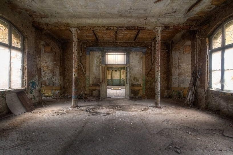 Verlassener Raum – Beelitz-Heilstätten von Roman Robroek