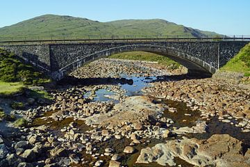Stenen brug in Sligachan Schotland, Verenigd Koninkrijk van Babetts Bildergalerie
