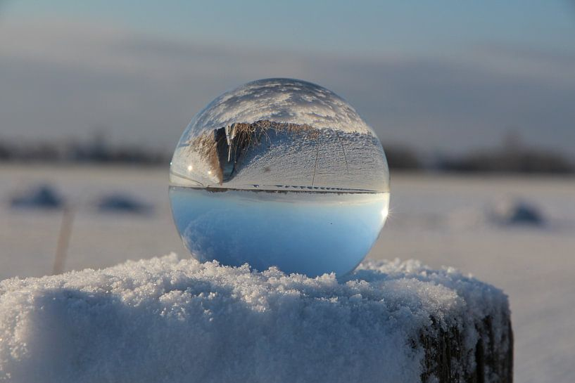 Glazen bol  van Fotografie Sybrandy