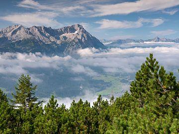 Blick vom Wank zur Zugspitze