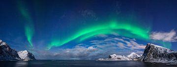 Aurora borealis - Polarlicht Lofoten von Wojciech Kruczynski