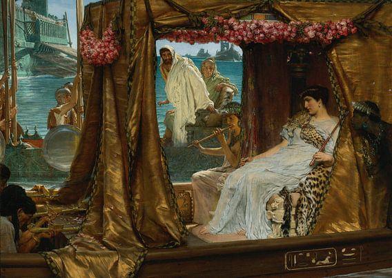 Lawrence Alma Tadema. Anthony and Cleopatra, 1884