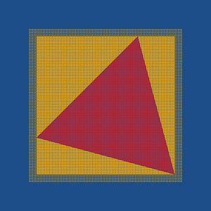 Driehoek in het kwadraat 1 van Andree Jakobson