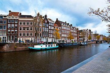 Zentrum von Amsterdam an der Prinsengracht sur Silva Wischeropp