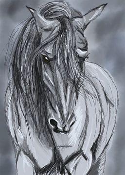 De kracht van het paard. van Monique Schilder
