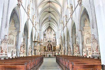 Kerk in Salem aan het Bodenmeer van Marvin Taschik