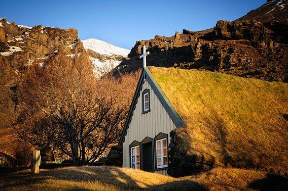 Typisch IJslands kerkje