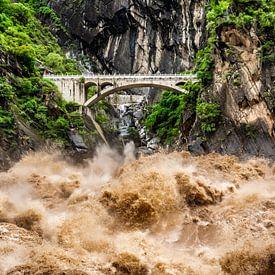 Tiger Leaping Gorge van Stijn Cleynhens