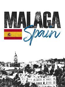 Malaga Spanje