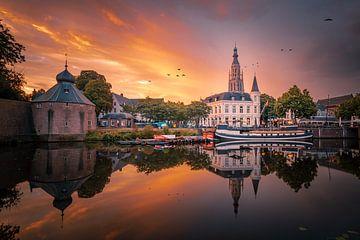 Zonsopkomst in Breda van Jesper Stegers