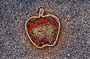 Apple on the Beach - Sand Pt III