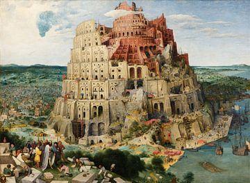 La Tour de Babel, Pieter Bruegel sur