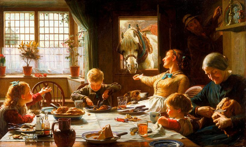Onderdeel van de familie, Frederic George Cotman van Meesterlijcke Meesters