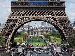 Parijs,Paris,Eiffeltoren van