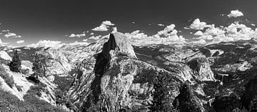 Yosemite National Park in Schwarz und Weiß von Henk Meijer Photography