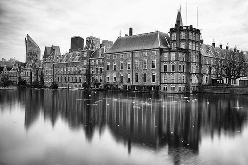 Den Haag - Binnenhof Black & White van