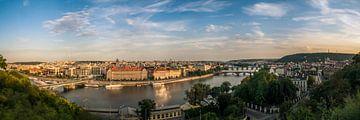 Praagse Panorama van pixelstory