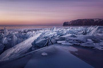 Sonnenaufgang am Baikalmeer von Peter Poppe