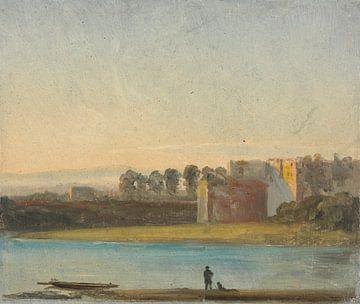 Blick über die Elbe, Johan Christian Dahl