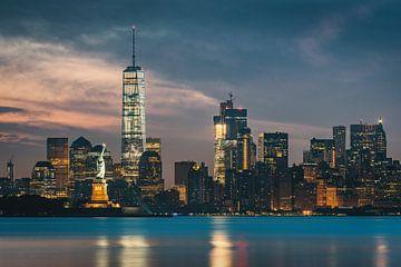 New Yorkse skyline van Stefan Schäfer