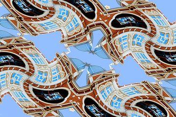 Bâtiments à La Haye différents 09 sur Hans Levendig
