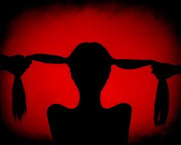 Rood/Zwart - Red/Black van