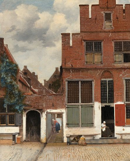 Johannes Vermeer. Het Straatje