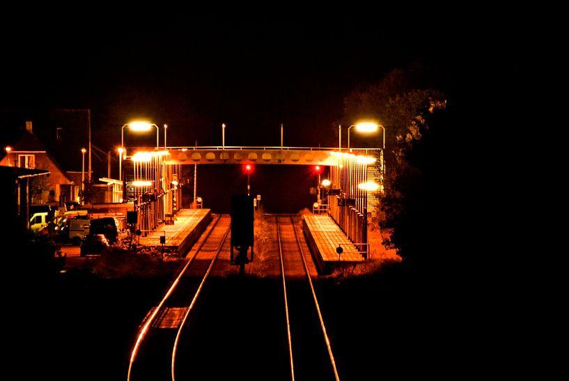 Sylt: Train station Morsum van Norbert Sülzner