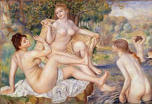 Pierre-Auguste Renoir. Les Grandes Baigneuses
