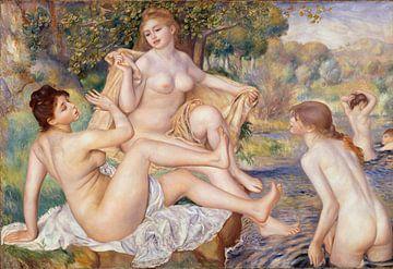 Les Grandes Baigneuses - Pierre-Auguste Renoir
