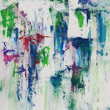 Abstrakte Komposition 1111 von Angel Estevez