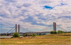 De brug  bij Zaltbommel van Eibert den Hengst