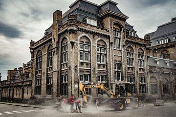 Straßenbild Gent - Belgien von Mischa Corsius