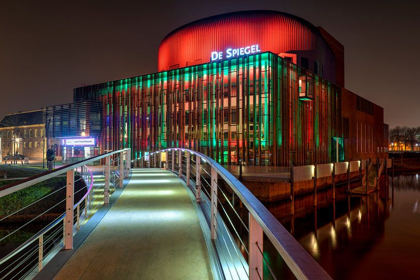 Theater de Spiegel Zwolle van Fotografie Ronald