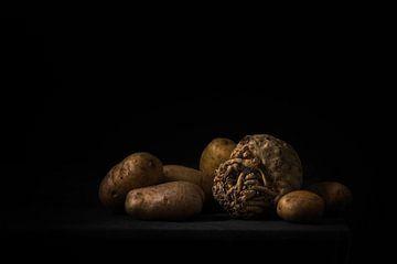Aardappelen en knolselderij van Eddy 't Jong