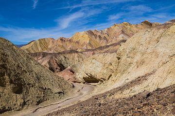 Death Valley's Goldener Canyon Pfad von Peter Leenen