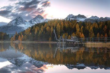 Herbstlicher Sonnenuntergang von Markus Stauffer