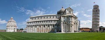 Piazza dei Miracoli, Pisa, Italy. van Hille Bouma