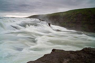 Gullfoss waterval sur Ab Wubben