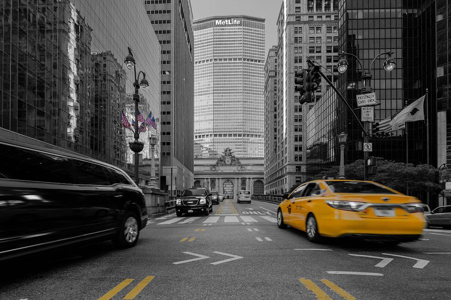 New York    Park Avenue van Kurt Krause