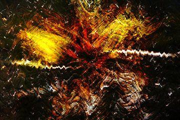 Abstractart : Gekke manier van Michael Nägele