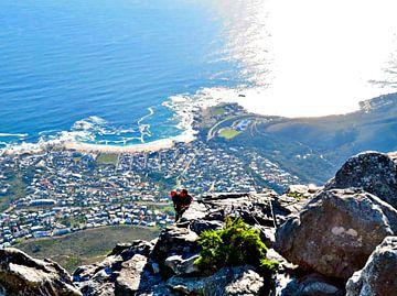 Afdaling van de Tafelberg van zam art