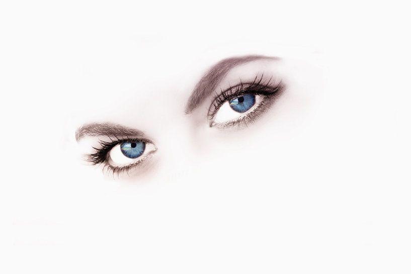 Beauty blue eyes van Abra van Vossen